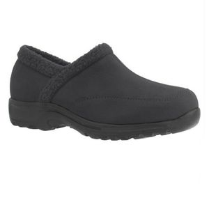 New! Comfortview The Dandie Clog Black Size 12WW.